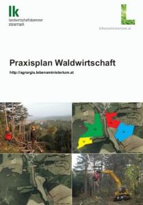 Broschüre Praxisplan Waldwirtschaft