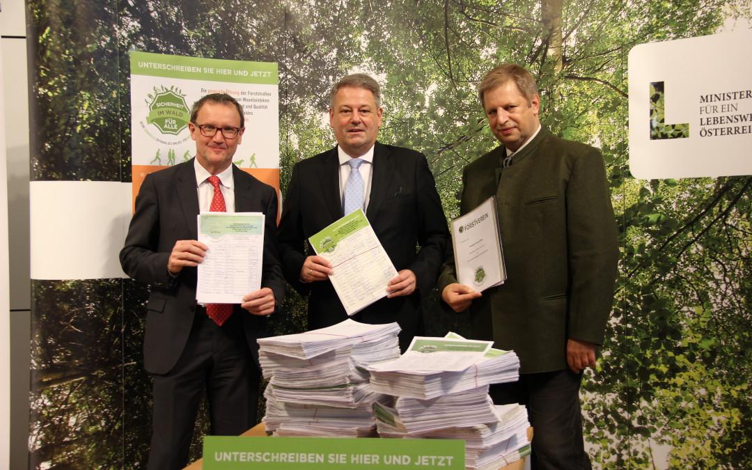 Über 70.000 Unterschriften: Absage an grenzenloses Mountainbiken im Wald