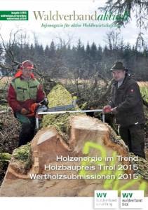 Ausgabe 1/2015 Tirol & Vorarlberg