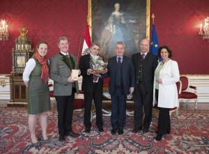 Empfang einer Delegation der österreichischen Forst- und Holzwirtschaft