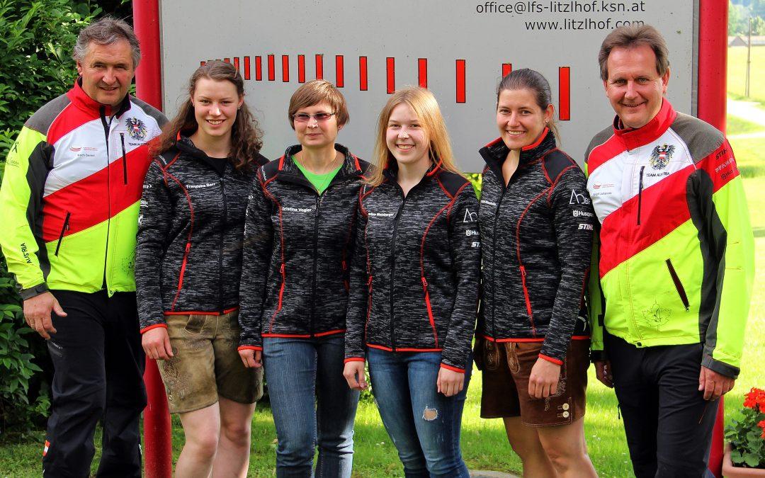 Caroline Weinberger geht für Österreich an den Start